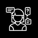 Customer Query Icon