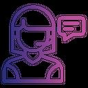 Customer representative Icon