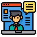 Review Service Customer Icon