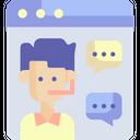 Curtomer Customer Service Customer Support Icon