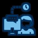 Support Call Center Service Icon