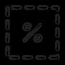 Cut Cuppon Icon
