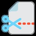 Cut File Cut File Icon