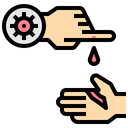 Cut Finger Spread Icon