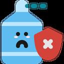 Risk Caution Sanitizer Icon