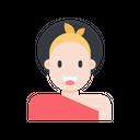 Cute Lady Icon