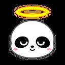 Panda Angel Bear Icon