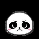 Panda Evil Angry Icon