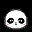 Panda Happy Bear Icon