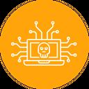 Cyber Attack Secure Icon