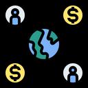 Cycle Demand Economic Icon