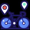 Cycle Location Advanture Icon