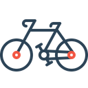 Cycle Bicycle Travel Icon