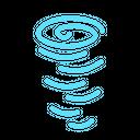 Cyclone Tornado Hurricane Icon