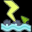 Damage Disaster Danger Icon