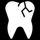 Damage Teeth Teeth Damage Broken Teeth Icon