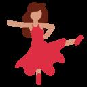 Dancing Medium Dark Icon