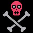 Danger Danger Sign Skull Icon