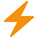 Danger Electric Electricity Icon