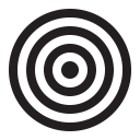 Dart Board Illusion Icon