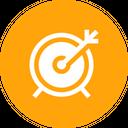 Dart Board Target Icon