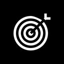Dart Target Focus Icon