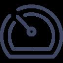Dashboard Speedometer Icon