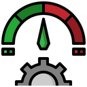 Meter Time And Date Efficiency Icon