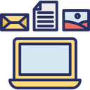 Data Collection Data Sources Data Warehouse Icon