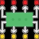 Data Flow Data Planning Planning Icon