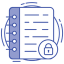 Data Security Folder Security Data Encryption Icon