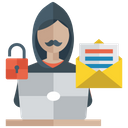 Data Security Officer Information Security Data Prevention Icon