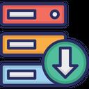 Data Storage Download Icon