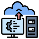 Server Computer Cloud Icon