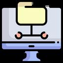 Database Data Storage File Storage Icon