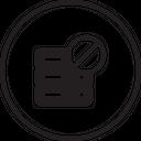 Database Server Rack Icon