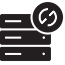 Database Server Rack Icon
