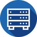 Database Server Hosting Icon