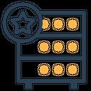 Databse Hosting Server Icon
