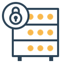 Databse Hosting Server Icon
