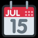 Date Calender Jul Icon