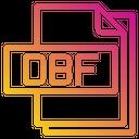 Dbf File File Type Icon
