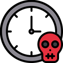Run Out Of Time No More Time Running Out Time Icon