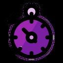 Deadline Stopwatch Bussines Icon