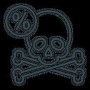 Death Percentage Icon