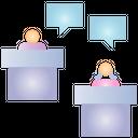 Debate Election Dispute Icon