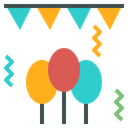 Decoration Party Celebration Icon