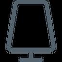 Furniture Line Decorative Lamp Icon