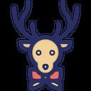 Christmas Deer Rudolf Icon