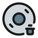 Delete Disc Icon